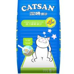洁珊猫砂 9L 膨润土猫砂 高结团除臭低粉尘猫砂用品 7.5kg