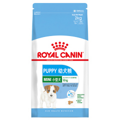 皇家(royal canin) 狗粮 小型犬 幼犬狗粮 MIJ312 2kg(效期至21.6.22)