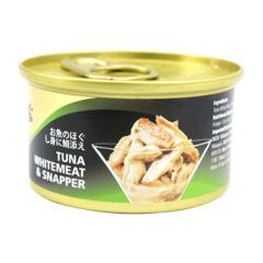 希宝 美味进口猫零食85g 吞拿鱼+鲷鱼 85g