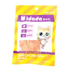 爱哒哒 猫零食鸡肉条 磨牙 猫咪零食 鸡肉金针软丝(适合3个月以上猫咪) 25g