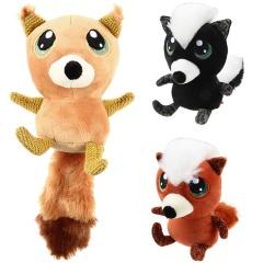 GiGwi 贵为大眼仔毛绒狗玩具中小型犬 专用 大眼仔松鼠