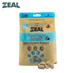 ZEAL肉类宠物零食猫用 羊肉三文鱼 100g