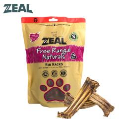 ZEAL牛肉类宠物零食 犬用风干小牛肋骨排 小牛肋骨排 150g