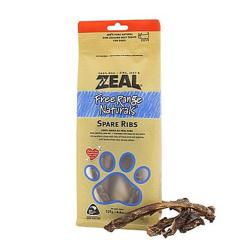 ZEAL牛肉类宠物零食犬用风干小牛肋骨 125g 小牛肋骨排