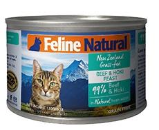 K9猫Feline Natural天然无谷猫罐-牛肉&鳕鱼 170g