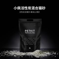 小佩活性炭混合猫砂 豆腐+膨润土 6L