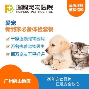【仅限广佛瑞鹏】幼犬/幼猫新到家必备体检套餐
