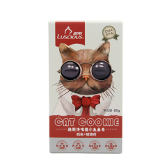 路斯 鳕鱼+猫薄荷饼干 80g 鳕鱼+猫薄荷 80g