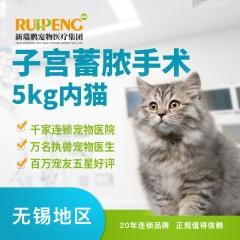 【无锡】子宫蓄脓手术(5kg内猫) 0-5kg