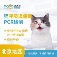 【纳吉亚北京】猫呼吸道病毒PCR检测 猫咪 体检套餐