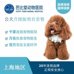 【芭比堂上海】公犬升级版吸入式麻醉绝育套餐 公犬 10kg以下