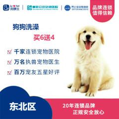 新春【新瑞鹏-东北区】狗狗洗澡买6送4次卡 5公斤内