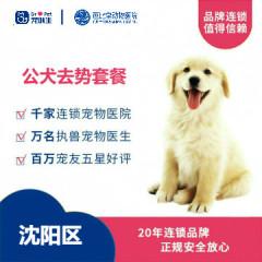 【新瑞鹏沈阳、锦州、盘锦】公犬去势套餐(10kg以内) 10kg以内