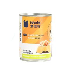 爱哒哒 鸡肉蔬菜罐头 375g/罐 1罐