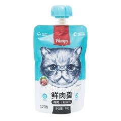 Wanpy顽皮 成猫用鲜肉羹  鸡肉配方 90g