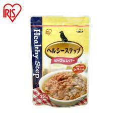 爱丽思IRIS 狗零食软罐头宠物湿粮250g 牛肉鸡肝软罐头 250g