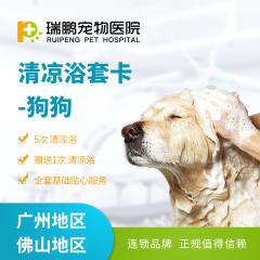 【瑞鹏-广佛地区】狗狗 洗美套卡(5送1)(hnrpmr002) 清凉浴 5送1 3.01-6kg
