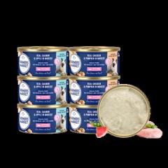 澳洲Farmers Market/蓝宝食进口猫罐头 鸡肉+南瓜口味85g(成猫)