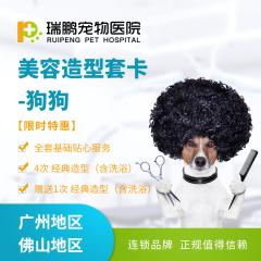 【瑞鹏-广州】美容套卡 限时特惠(hnrpmr999) 狗狗 冬日美容造型 4送1 3.01-6kg