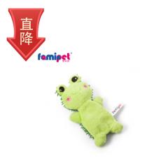 梵米派  宠物狗狗可发声耐咬毛绒互动玩具 青蛙宝宝(大中型犬)