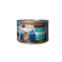 K9猫Feline Natural天然无谷猫罐-牛肉&鳕鱼 85g