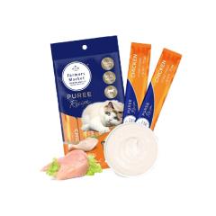 澳洲Farmers Market/蓝宝食进口流质猫条湿粮 鸡肉14g*4