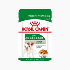 皇家小型犬成犬湿粮包零食主粮MIAW 85g