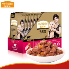 麦富迪湿粮罐头肉粒包12包*95g 清炖牛肉 95g*12包