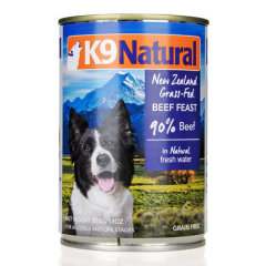 K9犬Natural天然无谷犬罐-牛肉 370g