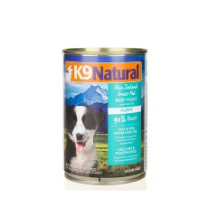 K9犬Natural幼犬专用天然无谷犬罐-牛肉 370g