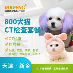 【新瑞鹏天津+新乡】犬猫CT检查 CT 1次