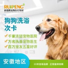 【安徽瑞鹏、宠颐生、艾贝尔】狗狗精细级洗浴季卡(15次) 0-3kg