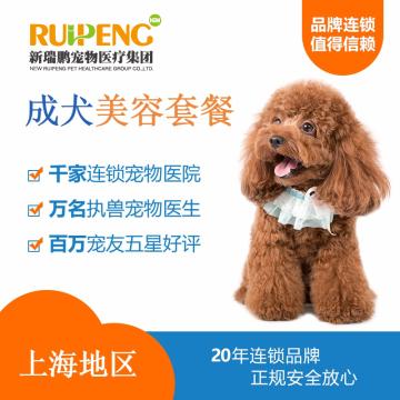 【阿闻上海】犬美毛护肤浴10送5套餐(市区版) >40kg
