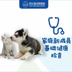 【杭州芭比堂】家庭新成员基础健康检查 猫