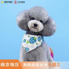 【南京通用】宠物(犬)造型7次卡 狗狗美容 3-6kg