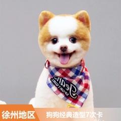 【徐州安安】狗狗经典造型7次卡 15-20kg