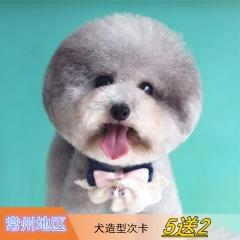 【常州安安、宠颐生、瑞鹏、艾贝尔】犬造型次卡5送2 狗狗 狗0-3kg