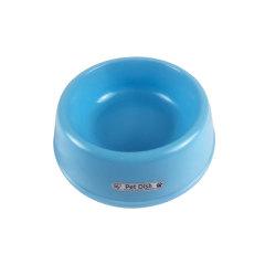 爱丽思D-160单边宠物食钵系列蓝色 个