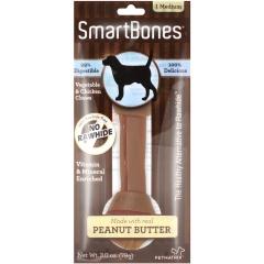 Smartbones禾仕嘉 狗狗洁齿骨1支装 中号(花生味)
