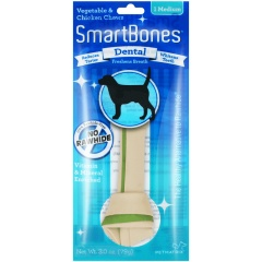 Smartbones禾仕嘉 狗狗洁齿骨1支装 中号(健齿味)