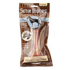Smartbones禾仕嘉 狗狗洁齿骨1支装 大号美味洁齿骨(花生味)1支装