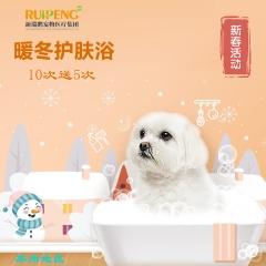 【苏州阿闻】猫暖冬护肤洗浴8次卡(5送3) W<2(短毛)