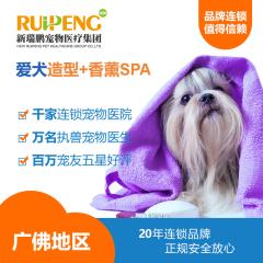 【新瑞鹏-广佛地区】爱犬造型+香薰SPA套餐(hnrpmr001) 狗狗美容造型+香薰SPA 0-6