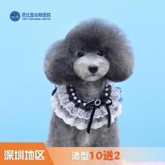 【深圳芭比堂】造型10送2 狗狗 0-3kg