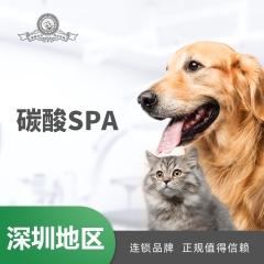 【深圳爱玩乐】碳酸SPA5送2 犬:0-3kg