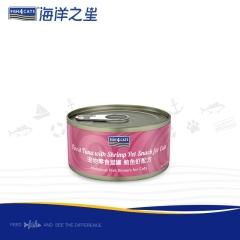 海洋之星 猫罐 鲔鱼+对虾天然配方 70g/罐