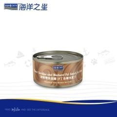 海洋之星 猫罐 沙丁鱼+鲭鱼天然配方 70g/罐