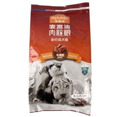 麦富迪牛肉粒+钙奶 成犬粮 7kg