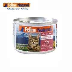 K9猫Feline Natura天然无谷猫罐-鸡肉&鹿肉 170g