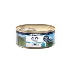 巅峰Ziwi Peak马鲛鱼羊肉配方猫罐头 85g/罐